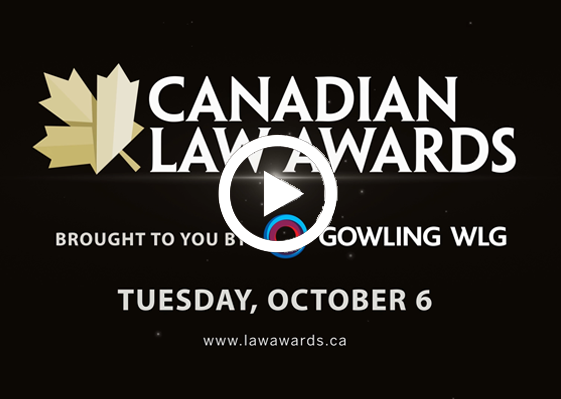 canadian law award 2020 video highlights